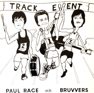 Paul Race And The Bruvvers - Track Event (LP) (VG/VG)